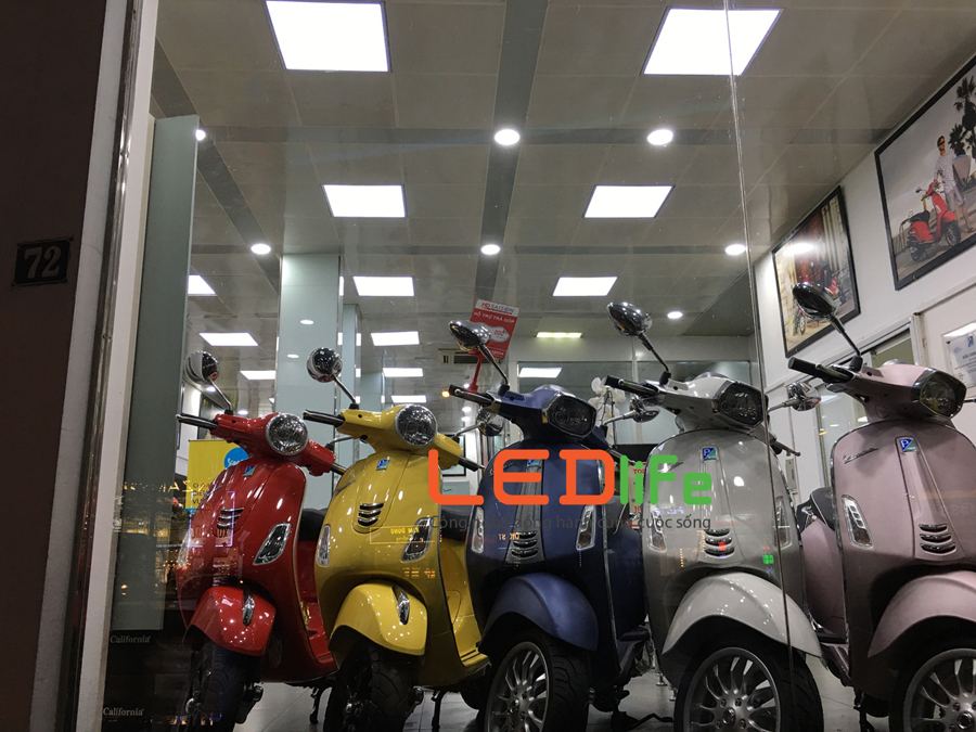 đèn led panel, den led panel, đèn panel led